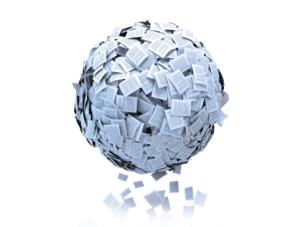ball of emails