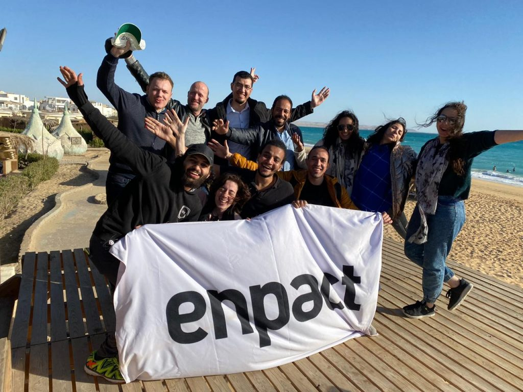 Enpact startup mentoring team picture
