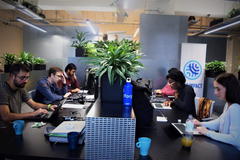 yale collabathon hackathon berlin team at work
